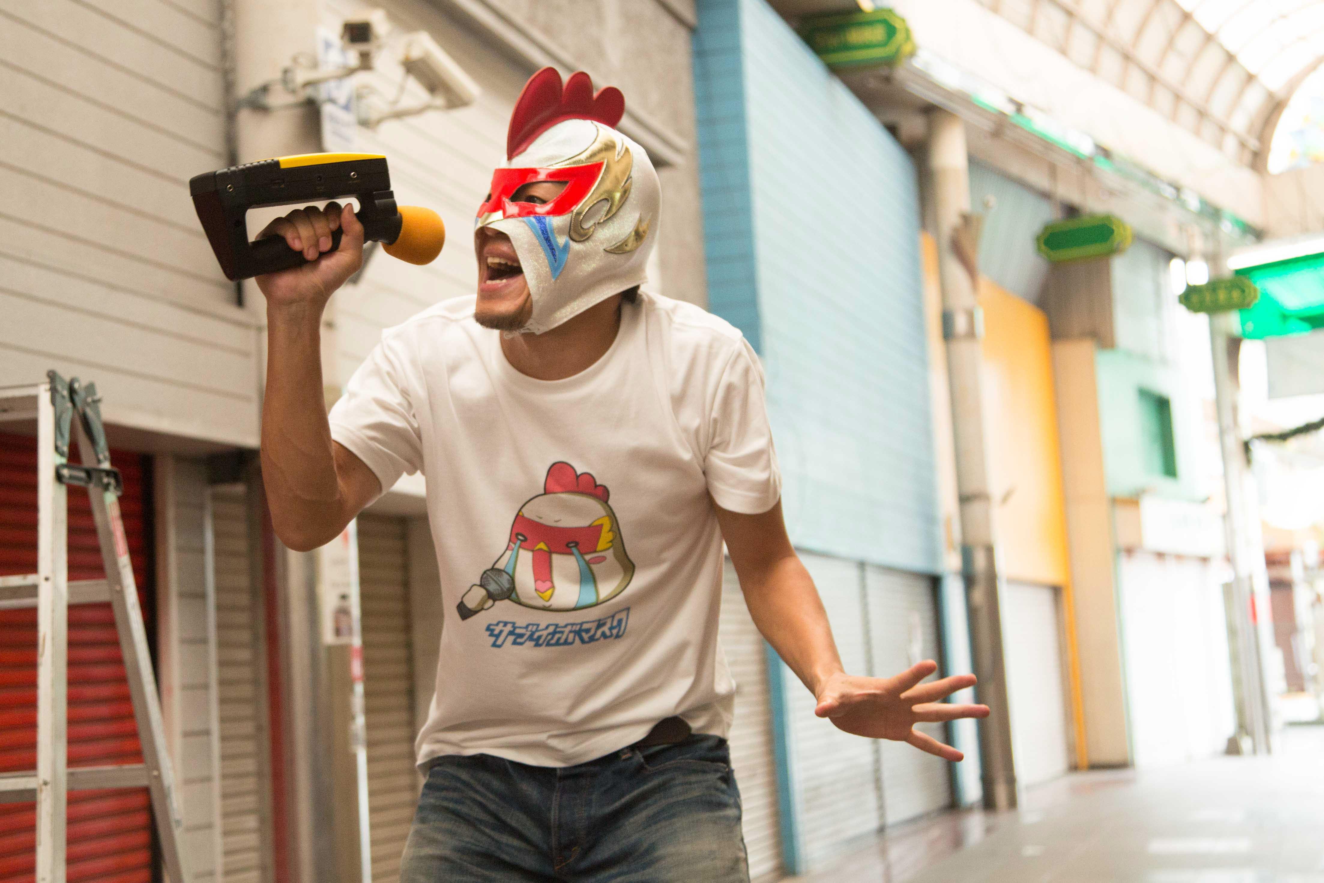6/7 謎のシンガー・サブイボマスク、京セラドームにてプレ始球式投球決定!